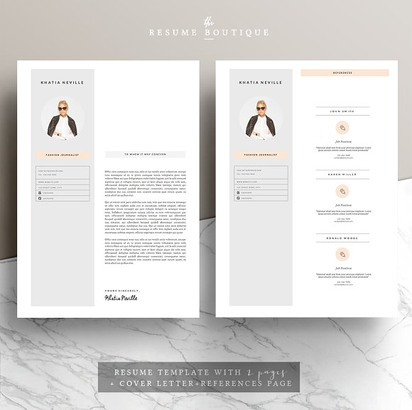 Resume Template 5pages