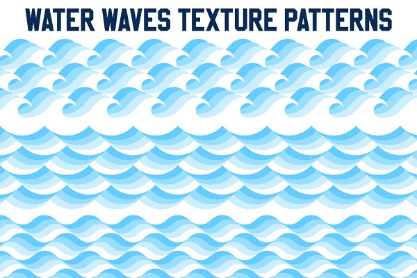 Water Waves Texture Patterns