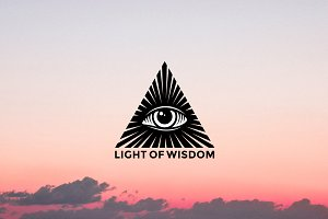 All-Seeing Eye Logo Template
