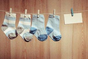Baby boy socks