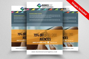 Unique Business Flyer Template