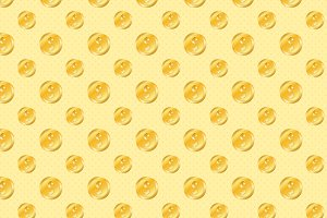 Golden Coins Pattern
