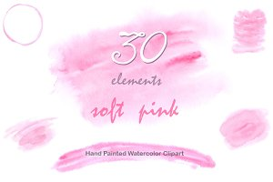 Digital background - Soft Pink