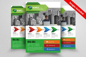 Boost Your Business Flyer Template