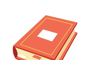 Isometric book