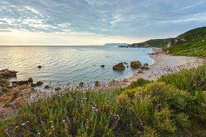 Potistika beach sunrise (Greece)