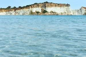 View from Gerakas beach