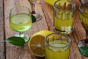 Limoncello, Italian liqueur