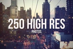 Hi-Res Photoset 250 Images