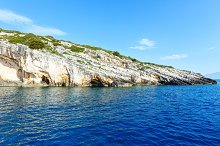 Blue Caves in Zakynthos (Greece)