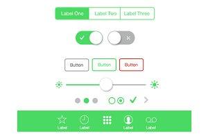 iOS Style UI Kit
