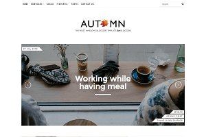 Autumn Premium Blogger Template