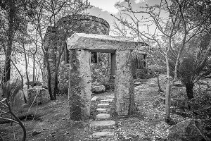 rustic old stone