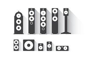 Speakers package