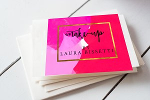 Make-up Artist Appointment Card.