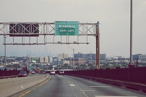 Highway to New York City