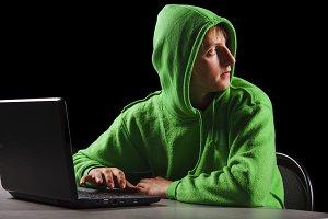 hacker.