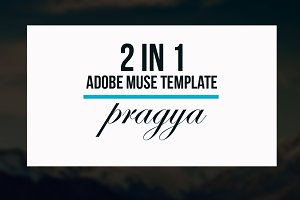 Pragya - 2 In 1 Muse Template