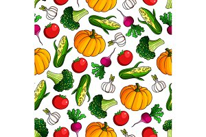 Vegetarian healthy food pattern