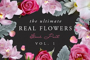 The Ultimate Real Flowers Pack Vol 1
