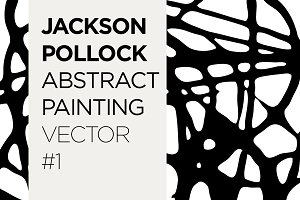 Abstract Painting Pattern Vector #1