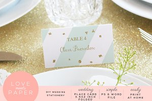 Name Place Card PC2009