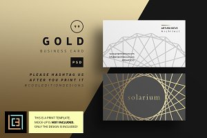 Gold - Business Card 99