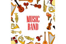 Musical instruments banner