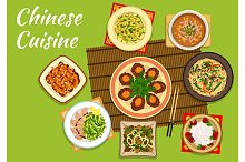Chinese cuisine dihes