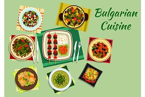 National dishes of bulgarian cuisine