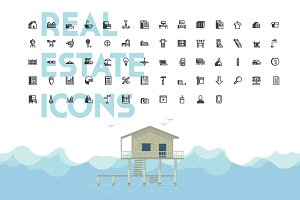 Isometric Real Estate Icons