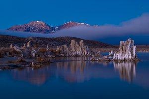 Misty Mono Lake
