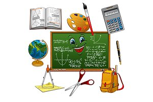 School and education objects