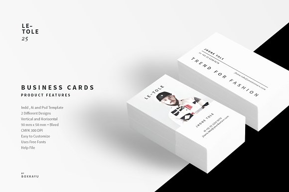 Fashion business cards business card templates creative market accmission Image collections