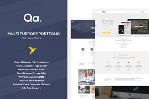 Qa - Multipurpose Wordpress Template