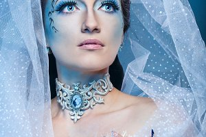 Snow Queen. Christmas