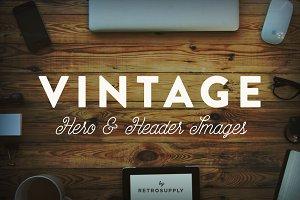 12 Vintage Hero Images (+ Bonus)