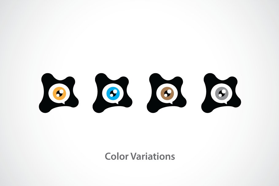 Eye of Gamer Logo Template in Logo Templates - product preview 3