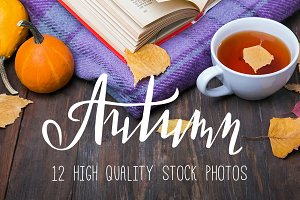 Styled stock photos. Autumn set.