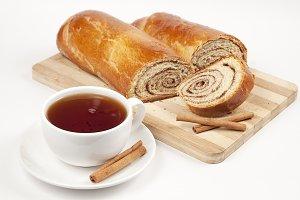 Tea and sweet rolls