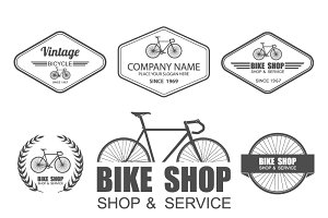 Bicycle logo Set