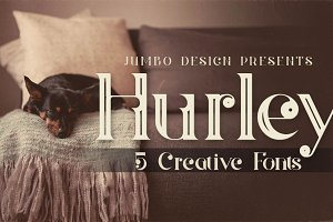 Hurley - Vintage Style Font