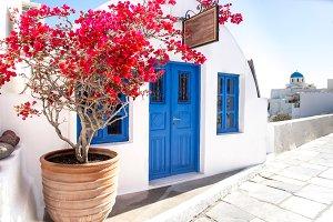 White architecture, Santorini