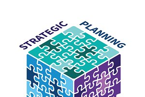 Strategy planning cube