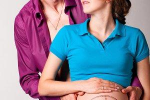pregnant pregnant couple