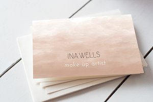 Ombre Business Card