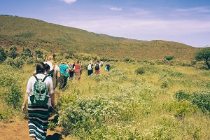 Group on Trail