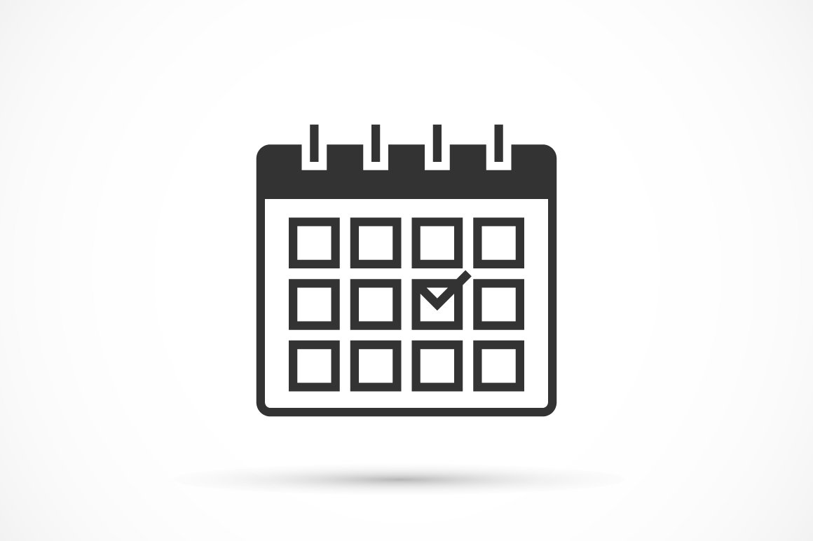 Calendar icon ~ Icons ~ Creative Market