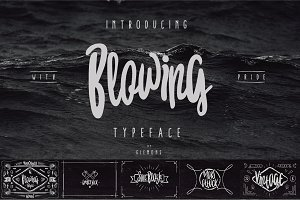 Blowing Typeface