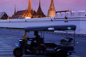 Taxi in Bangkok Thailand